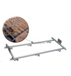 Estructura de fijación sobre tejado inclinado.