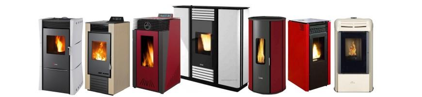 Nueva gama de estufas de pellet, hidroestufa, calderas y quemadores de biomasa de Cambio Energético.